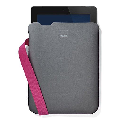 Acme Made Bay Street Ipad Case / Sleeve in Grey/Pink color ( Ipad2, Ipad3, Ipod4, Ipad Air)