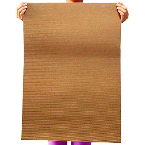 50 * 70 farbiges Büttenpapier/DIY-Materialien/großes Wellenpapier 2 offenes Kunstdruckpapier-10 Kaffee)