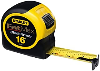 Stanley Tools 33-716 16-Foot-by-1-1/4-Inch FatMax Tape Rule with Blade Armor