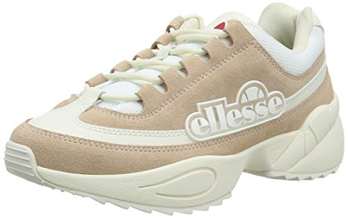 Ellesse Sparta, Sneaker Donna, Multicolore (Natural/off White/off White Nat/off Wht/off Wht), 37 EU