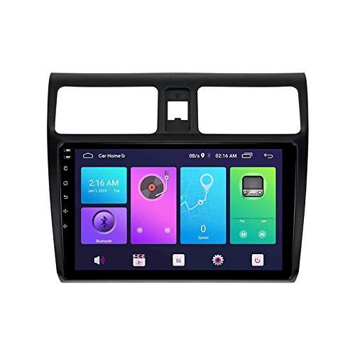 Para Suzuki Swift 2004-2016 coche estéreo Radios receptor unidad principal Android Auto Sat Nav reproductor multimedia GPS pantalla táctil HD con 4G DSP Carplay Mirror Link, 4 Core 4G+WiFi: 2+32GB