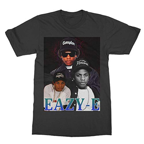 Vintage Style Inspired by Ea-zy- E Tshirt (Adult) Black