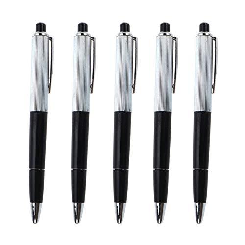 NUOBESTY 5 Stück Neuheit Schock Stifte mit Elektroschock Knebel Geschenk