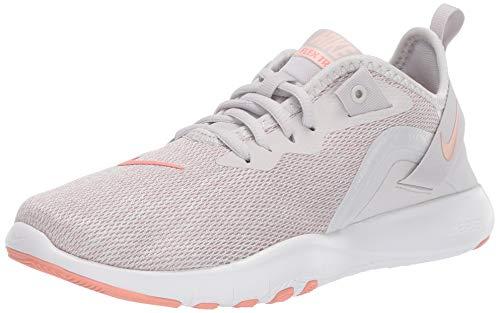 Nike Damen WMNS Flex Trainer 9 Gymnastikschuhe, Grau (Vapste Grey/Pink Quartz/Echo Pink/White 004), 41 EU