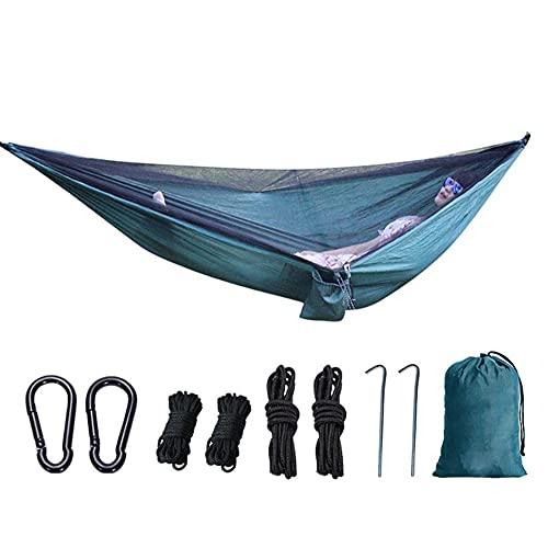 XHLLX Mosquitera Hamaca, Productos para Exteriores portátiles Tipo elástico Tela de paracaídas Velocidad de mosquitero Abierto
