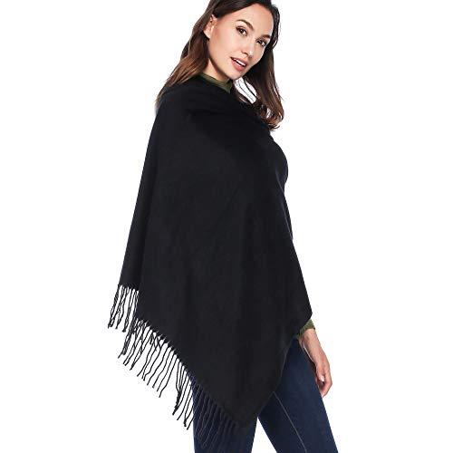 HOYAYO Damen Large Wrap Schal - Schal Stola für Frauen Schultertuch Eleganter Schal (Mehrfarbig)