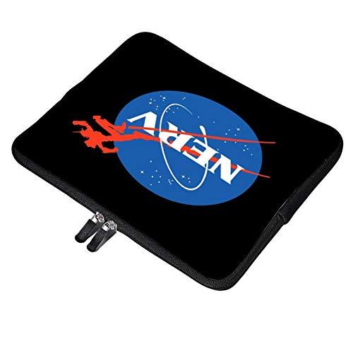 Neon Genesis Evangelion Nerv X NASA Logo Laptop Bag 13 inch Briefcase MacBook Pro MacBook Air Work Business Slim Tablet Handbag