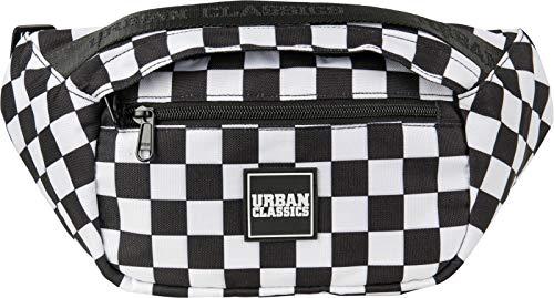 Urban Classics Top Handle - Bolso Bandolera (33 cm), Blanco/Negro (Multicolor) - TB2550