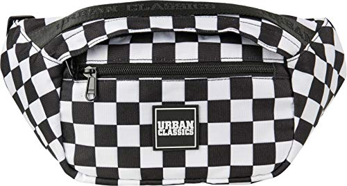 Urban Classics Top Handle Shoulder Bag Umhängetasche, 33 cm, Black/White