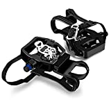 INPUSLIN SPD Pedals 9/16'' SPD Pedals for Spin Bike/Spin Bike Pedals with Clips/Compatible Peloton Pedals - Shimano SPD Pedals - Toe Cages for Peloton Bike - Peloton Toe cage - Exercise Bike Pedals