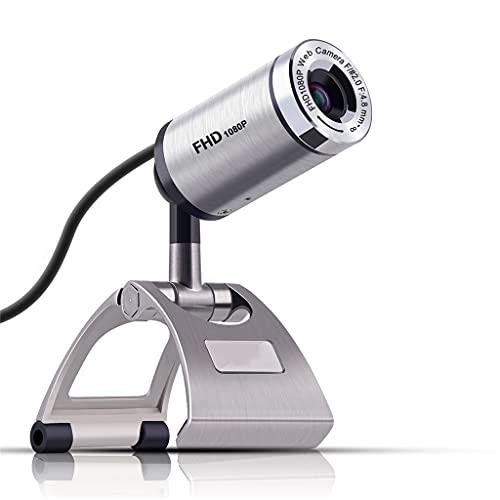 RYSF 1080P Webcam Full HD USB2.0 30 FPS Manual Focus PC Cámara Web con micrófono para webcams de Juegos de computadora