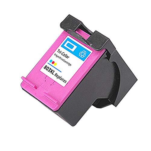 Cartuchos de tinta remanufacturados para HP 803XL para HP Deskjet 1111 1112 2131 3132 Officejet 4620 4650 1 color