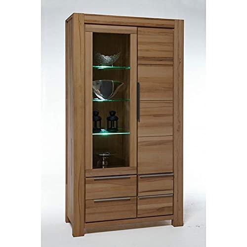 Elfo Sophia - Vitrina (madera de roble salvaje barnizada, altura de 200 cm)