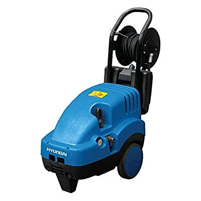 Hyundai HYWE15-54 3-Phase Pro Cold Water Portable Electric Pressure Washer - Blue from Hyundai