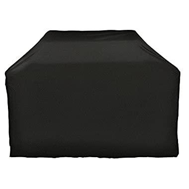 i COVER Grill Cover- 65 Inch Heavy Duty Water Proof Patio Outdoor Black BBQ Barbecue Smoker/Grill Cover G11603-1 for Weber Char-broil Brinkmann Holland JennAir and More.