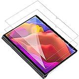 IVSOTEC für Lenovo Yoga Tab 13 Panzerglas, 9H Festigkeit, 2.5D Bildschirmschutz, [Einfache Installation][Anti-Kratzen][Anti-Bläschen], Schutzfolie für Lenovo Yoga Tab 13 Zoll 2021 (YT-K606F), 2 Stück