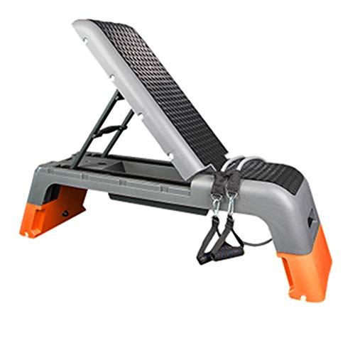 Steps De Aerobic Banco Multifuncional de Fitness Silla de Ejercicio aeróbico Plataforma Paso a Paso for el Paso Entrenamiento físico Pedal Inicio Equipo for Deportes Paso aeróbico