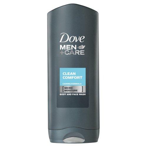 Dove Men+Care Clean Comfort Pflegedusche, 6er-Pack (6 x 250 ml)
