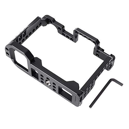 Sxhlseller Jaula para cámara, portátil, Profesional, antioxidante, Resistente a la corrosión, aleación de Aluminio, CNC, cámara SLR, Jaula para grabación de Video para cámaras Sony A7M4