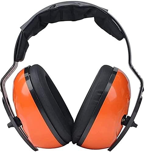 AACXRCR Orejeras Reductoras de Ruido Taller de Orejeras industriales Ear Protectores Reducir el Ruido cómodo (Color: Naranja, tamaño: uno Tamaño) (Color: Naranja, Tamaño: Un tamaño)