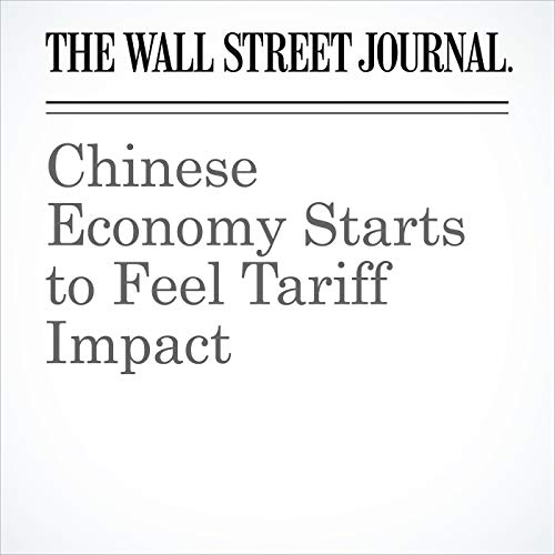 Chinese Economy Starts to Feel Tariff Impact copertina