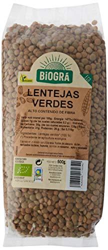 Biográ Lentejas Verdes 500G Biogra Bio Envase De 500 Gramos Biográ 300