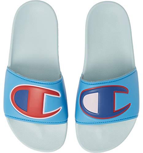 Champion Womens Slides Sandals FLIP Flops CM100329W ACTIVEBLUE/Multi 11