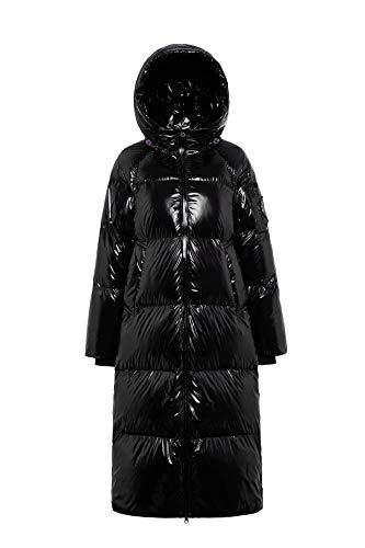BOSIDENG - Lange Jacke mit Kapuze und Gänsedaunen für Damen
