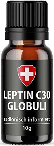 Leptin C30 Globuli für Leptin Stoffwechsel Diät | Active Swiss - radionisches Leptin | Leptin Diät | Kombinierbar mit hCG Stoffwechselkur | Schlank in 21 Tagen Leptin abnehmen