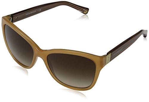 Emporio Armani Unisex EA4068 Sonnenbrille, Mehrfarbig (Opal Honey 550613), Large (Herstellergröße: 57)