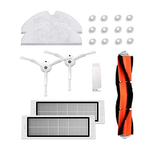 Amazing Deal Calvas Xiaomi Robot Parts roller brush side brushes HEPA filte for xiaomi roborock s50 ...