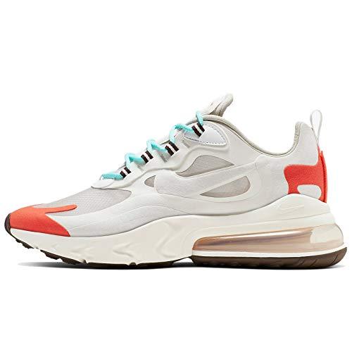 Nike Air Max 270 React Ao4971-200 - Zapatillas deportivas para hombre, Beige (Tinta beige claro/platino.), 40.5 EU