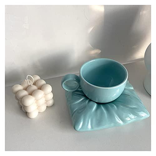 Tazas de Café Novedad cerámica taza de café 3D Cojín de cerámica Almohada de almohada Copa linda de la leche creativa taza para el regalo increíble 6.7 oz para Hogar, Oficina, Fiesta, Regalo p