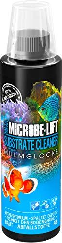 MICROBE-LIFT Substrate Cleaner – hochaktive Bakterien zur Mulm- & Schmutzentfernung im Aquarium, Süß- und Meerwasser, 236ml
