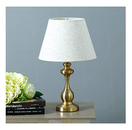 Lampe de table F Lampe de table chambre lampe de chevet simple et moderne (Couleur : A-Dimming switch-1)