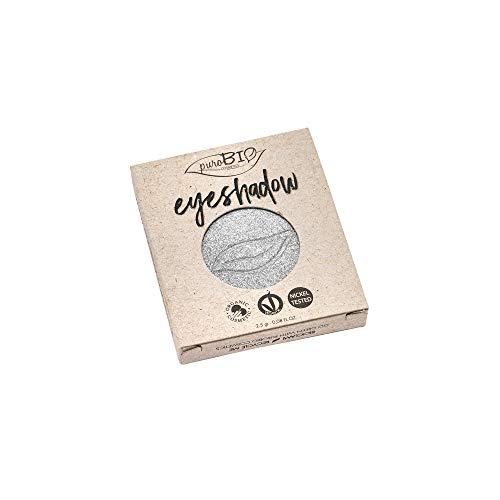 PuroBio Recharge recharge Ombre à paupières en dosettes n. 23 – Silver Scintillant Très Brillant