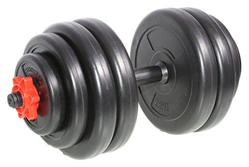 SportPlus Mancuernas de 15 kg Cierre de...