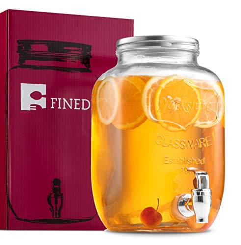 1-Gallon Mason Jar with Spigot