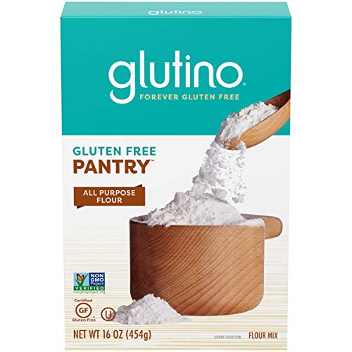 Gluten Free by Glutino Pantry All Purpose Flour, Great for Baking, 16 Ounce