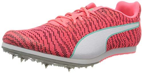 PUMA Evospeed Star 6, Zapatillas de Atletismo Hombre, Rosa (Ignite Pink White Black), 39 EU