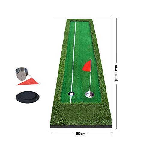 Best Review Of JHHXW Golf Putting Mats, with Auxiliary Aiming Line,with Pusher Jack, Golf Practice...