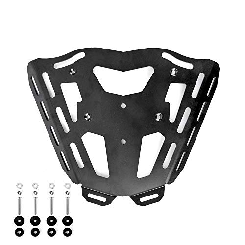 Motorcycle Ornamental Mouldings Motorcycle CNC Aluminum Rear Carrier Luggage Rack Fit For HONDA CFR1000L Africa Twin 2016 CBR 1000L CBR 1000 L (Color : 10mm screw C)