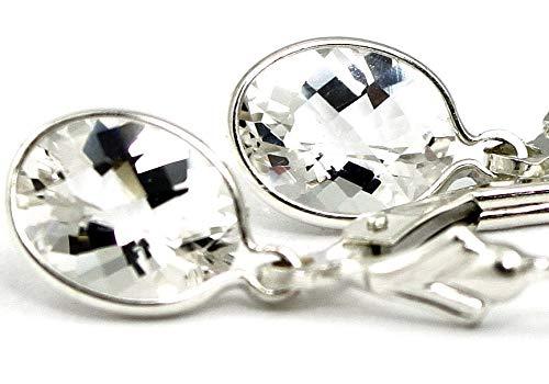 Champagne CZ SE005 925 Sterling Silver Threader Earrings