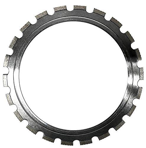 ALSKAR DIAMOND Pro ADTRS 14 inch Dry or Wet Cutting Ring Saw Diamond Blades for Masonry Brick/Block Pavers Concrete Stone (14