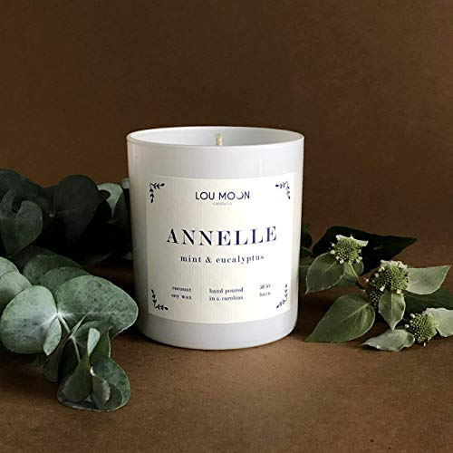 Coconut Soy Hand-Poured Candle Annelle