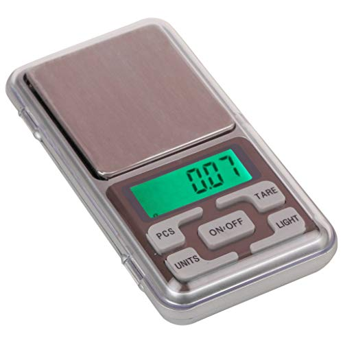 Glun Digital Pocket Scale 0.01G To 200G For Kitchen...