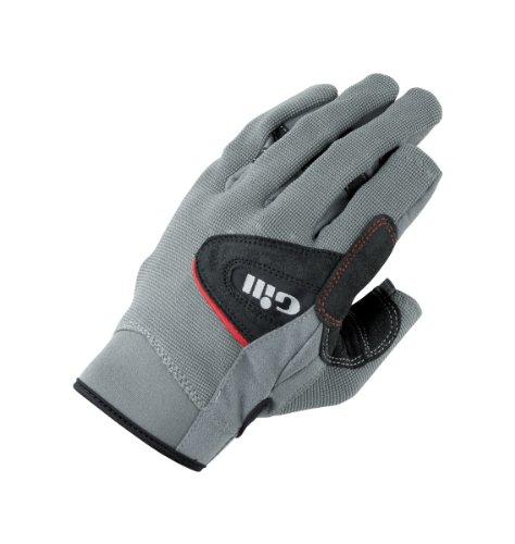 Gill Deckhand JUNIOR Glove Long Finger Grey/Black 7051J Size-- - Child