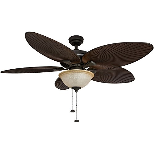 Honeywell Palm Island 52-Inch Tropical Ceiling Fan with...