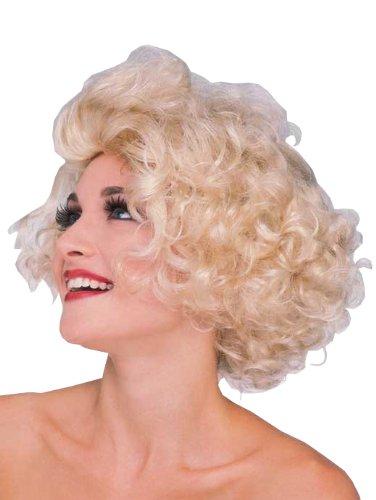 Rubie 's Officieel Hollywood Starlet pruik blond, volwassenen kostuum - One Size