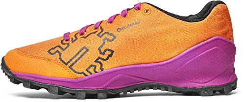 Icebug - Zapatillas Zeal3 W Rb9X para Trail Running Y Swimmrun (Mujer), Color Orange/Magenta, 39.5